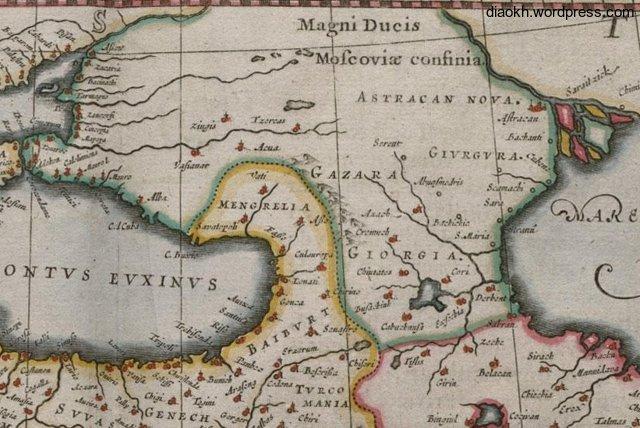 1658 Willem Janszoon Blaeu ..Amsterdam