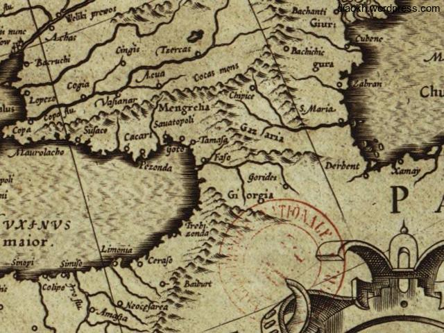 Europa, ad magnae Europae Gerardi Mercator